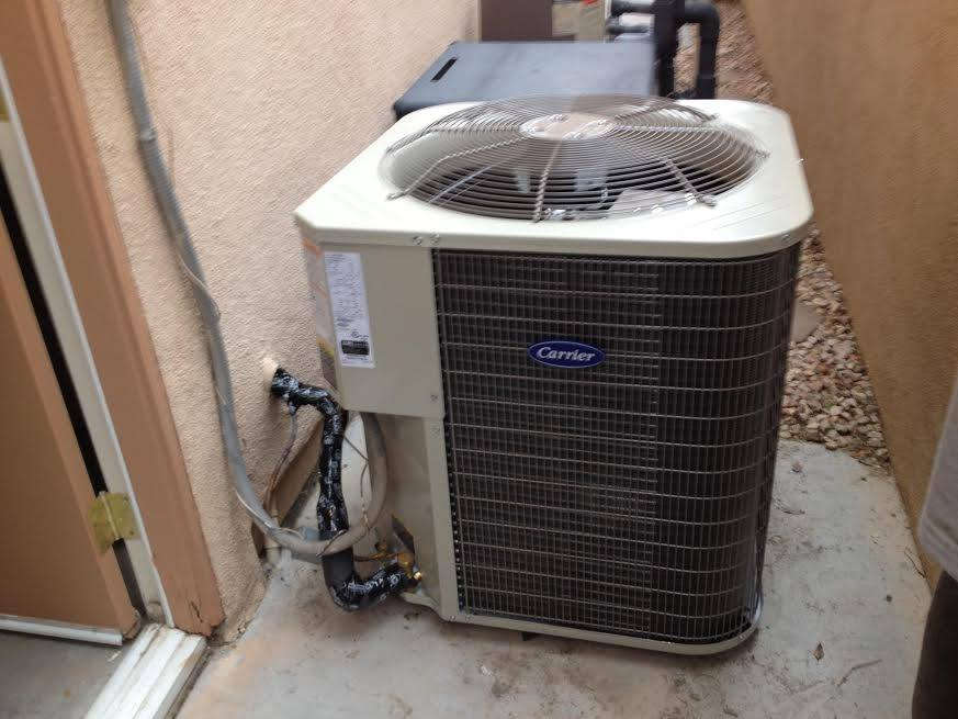 Air Supply Carrier Straight Cool 13 SEER High Efficiency Condenser