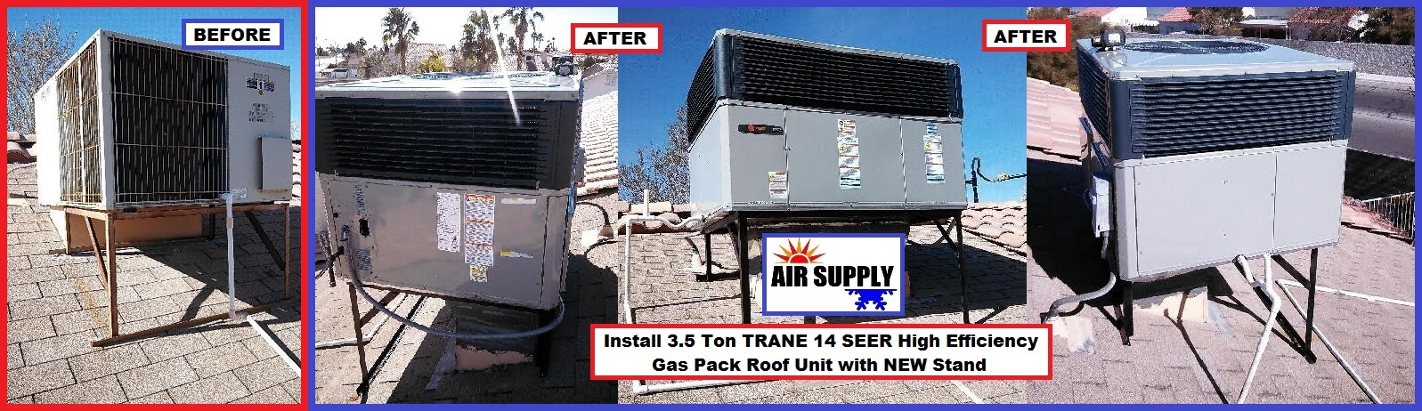Valley Spruce 3.5 Ton Trane GP - with words