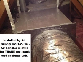 Air Handler attic
