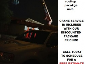 CRANE TRANE rooftop package