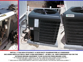Katmai 3 ton Guardian R407c condenser - with words