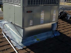 TRANE rooftop packg curve