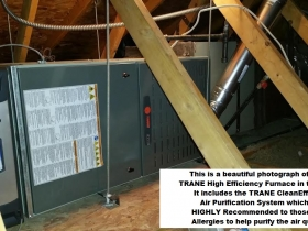 Trane furnace CleanEffects