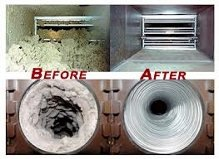 air supply before after ducts