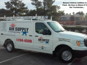 air supply nissan nv 1500
