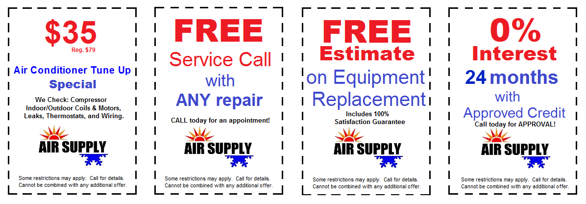 Coupon Web Ad AC tune ups - No Phone Number